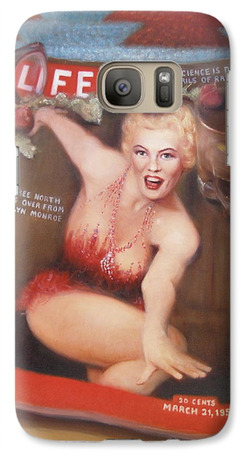 Realism Galaxy S7 Case featuring the painting Life In The Fifties by Donelli DiMaria