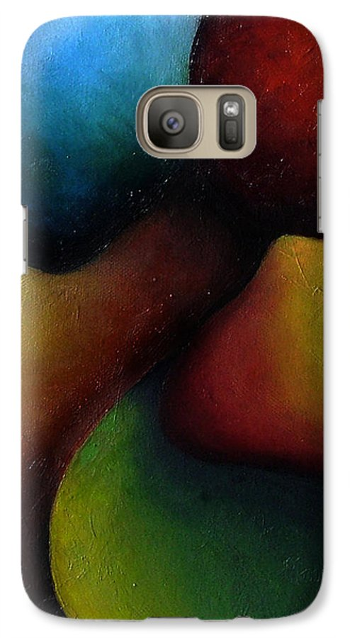 Fruit Galaxy S7 Case featuring the painting Life's Fruit by Elizabeth Lisy Figueroa