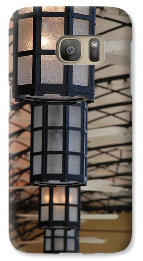 Architecture Galaxy S7 Case featuring the photograph Lights At City Place by Rob Hans