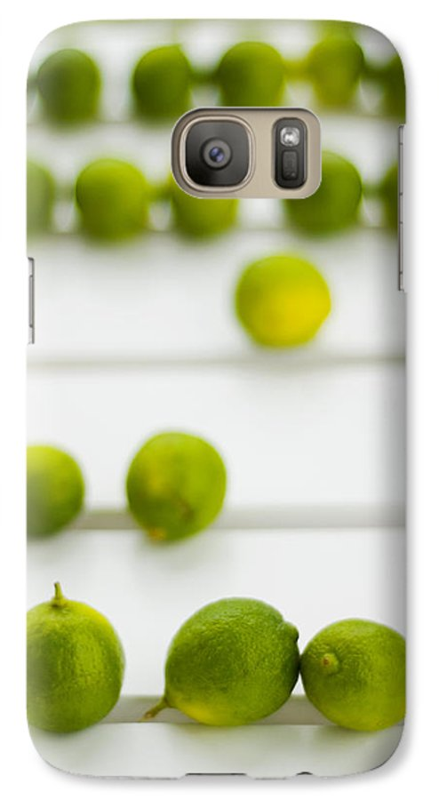 Green Galaxy S7 Case featuring the photograph Lime Green by Skip Hunt