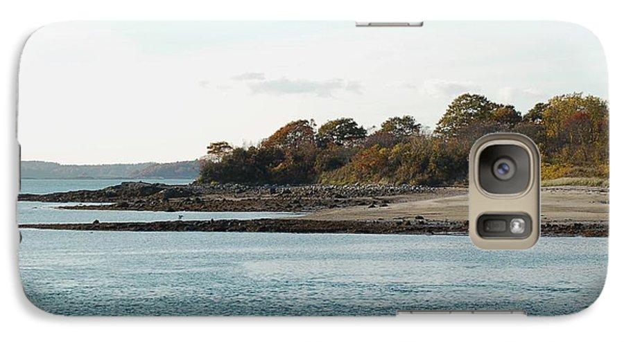 Island Galaxy S7 Case featuring the photograph Little Chebeague Beach by Faith Harron Boudreau