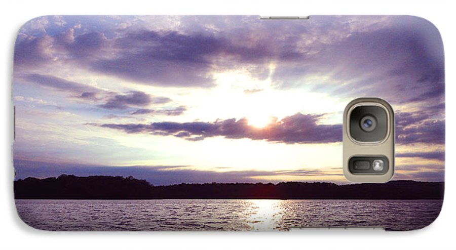 Lock Galaxy S7 Case featuring the photograph Loch Raven Sunrise by Christopher Spicer