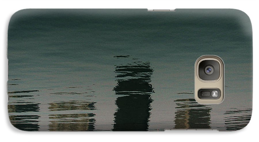 Lake Galaxy S7 Case featuring the photograph Lonely Soul by Dana DiPasquale