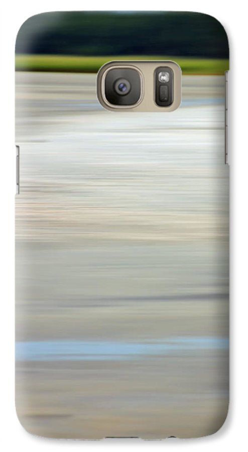 Coastal Galaxy S7 Case featuring the photograph Low Country Coastal Blur by Suzanne Gaff