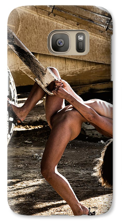 Sensual Galaxy S7 Case featuring the photograph Machinery by Olivier De Rycke