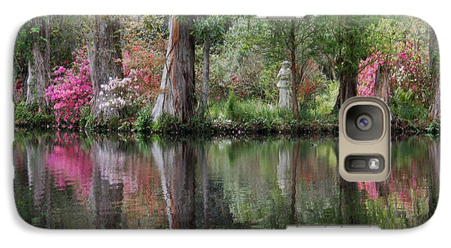 Magnolia Plantation Galaxy S7 Case featuring the photograph Magnolia Plantation Gardens Series Iv by Suzanne Gaff