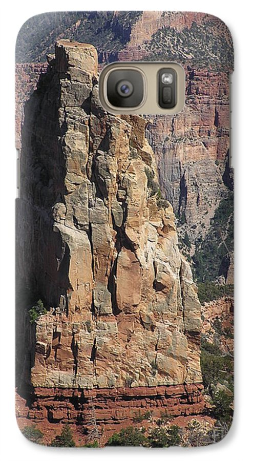 Rock Galaxy S7 Case featuring the photograph Majestic by Louise Magno