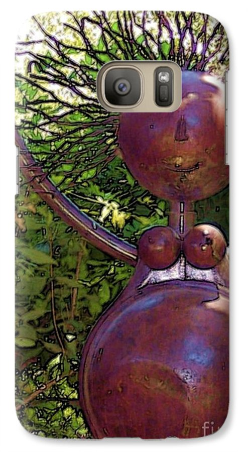 Sculpture Galaxy S7 Case featuring the photograph Mama Tool by Debbi Granruth