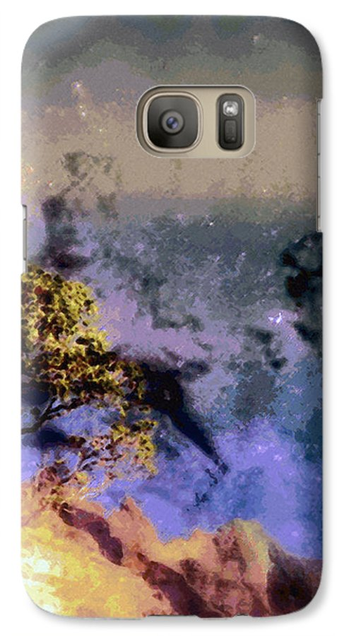 Rainbow Colors Digital Galaxy S7 Case featuring the photograph Manahuna by Kenneth Grzesik