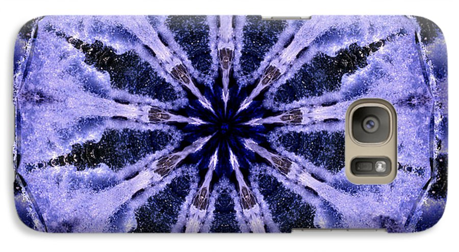 Mandala Galaxy S7 Case featuring the digital art Mandala Ocean Wave by Nancy Griswold