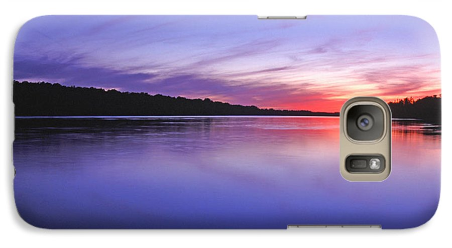 Landscape Galaxy S7 Case featuring the photograph Manidooziibi by Bill Morgenstern