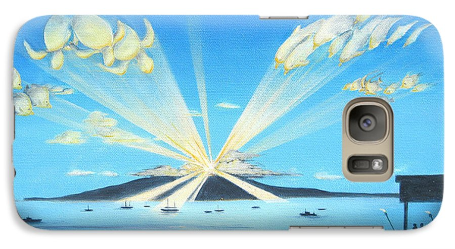 Maui Galaxy S7 Case featuring the painting Maui Magic by Jerome Stumphauzer