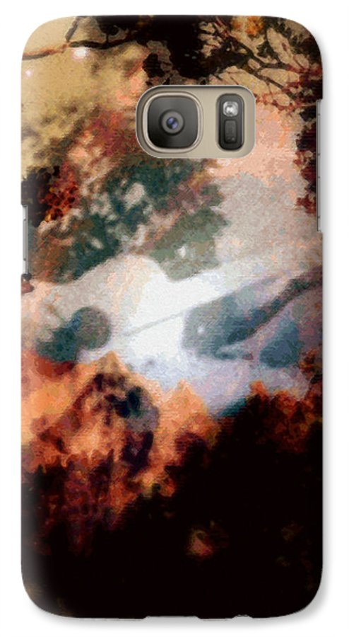 Tropical Interior Design Galaxy S7 Case featuring the photograph Mele Ho Oipoipo by Kenneth Grzesik