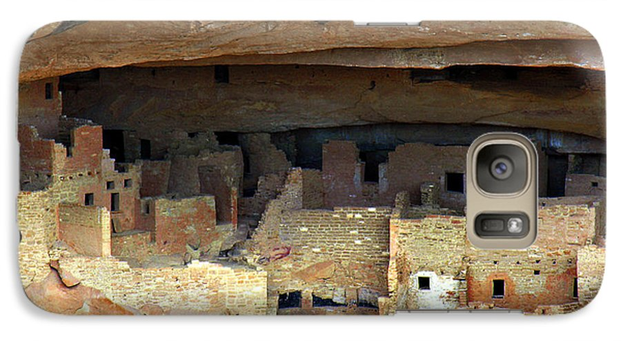 Americana Galaxy S7 Case featuring the photograph Mesa Verde by Marilyn Hunt