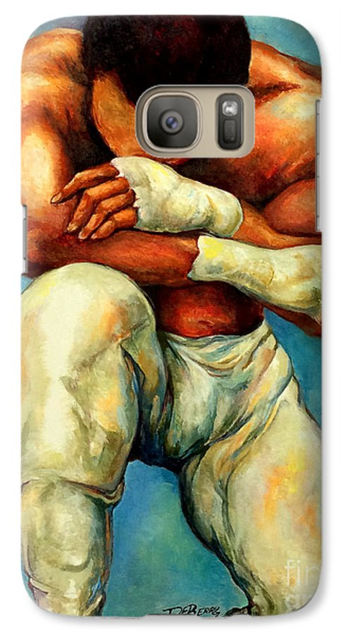 Lloyd Debery Galaxy S7 Case featuring the painting Michael Original by Lloyd DeBerry