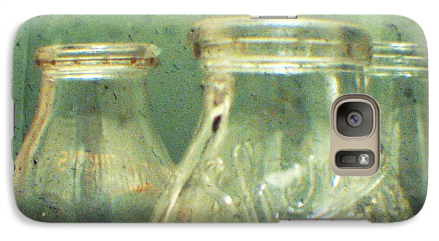 Ttv Galaxy S7 Case featuring the photograph Milk Bottles by Dana DiPasquale