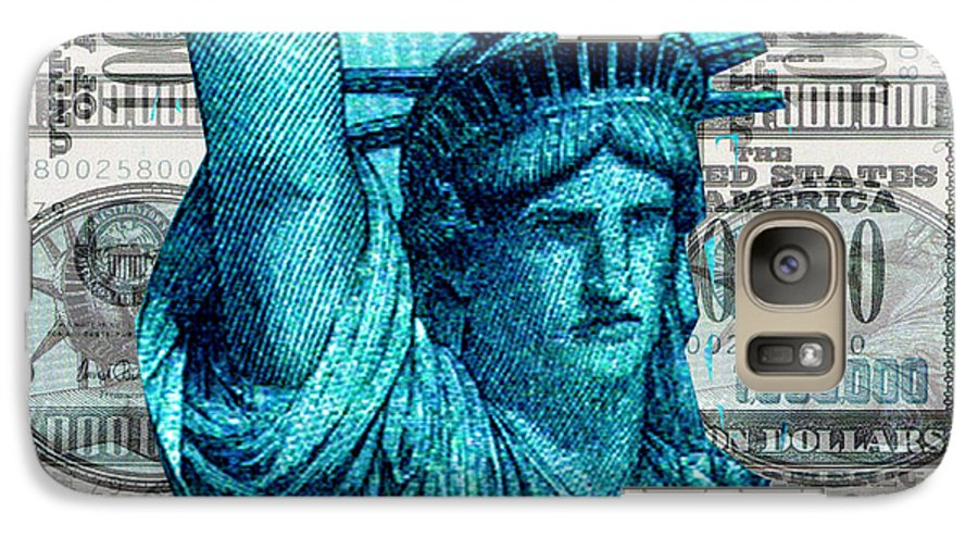 Millions Galaxy S7 Case featuring the digital art Million Dollar Pile by Seth Weaver