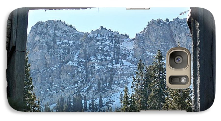 Mountain Galaxy S7 Case featuring the photograph Miners Lost View by Michael Cuozzo