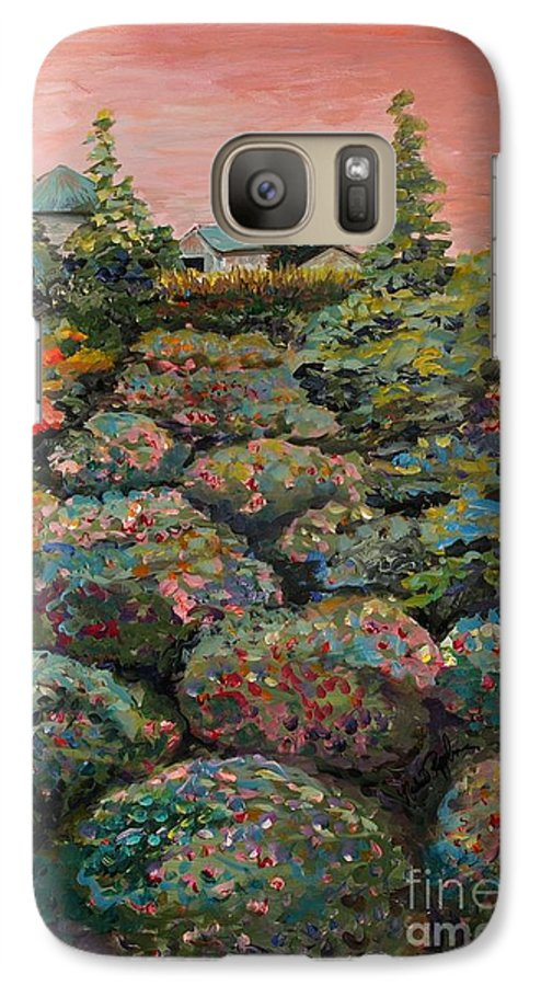 Minnesota Galaxy S7 Case featuring the painting Minnesota Memories by Nadine Rippelmeyer