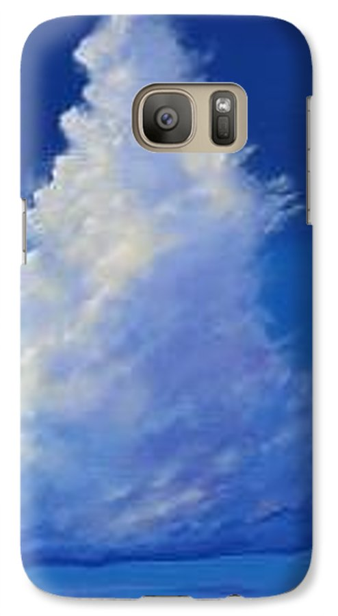 Clouds Galaxy S7 Case featuring the painting Minor Earth Major Sky by Hunter Jay