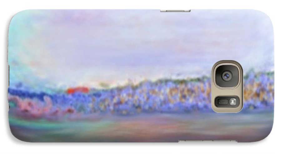 Sunset Galaxy S7 Case featuring the digital art Miracle Sunset by Dr Loifer Vladimir