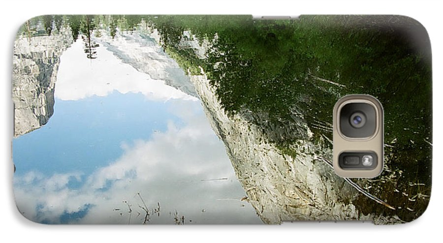 Mirror Lake Galaxy S7 Case featuring the photograph Mirrored by Kathy McClure