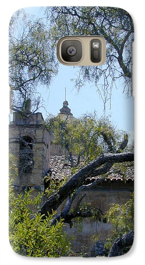 Mission Galaxy S7 Case featuring the photograph Mission At Carmell by Douglas Barnett