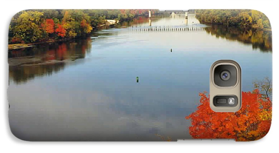 Mississippi Galaxy S7 Case featuring the photograph Mississippi River by Kathy Schumann