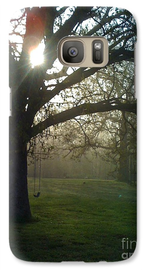 Mist Galaxy S7 Case featuring the photograph Misty Morning by Nadine Rippelmeyer