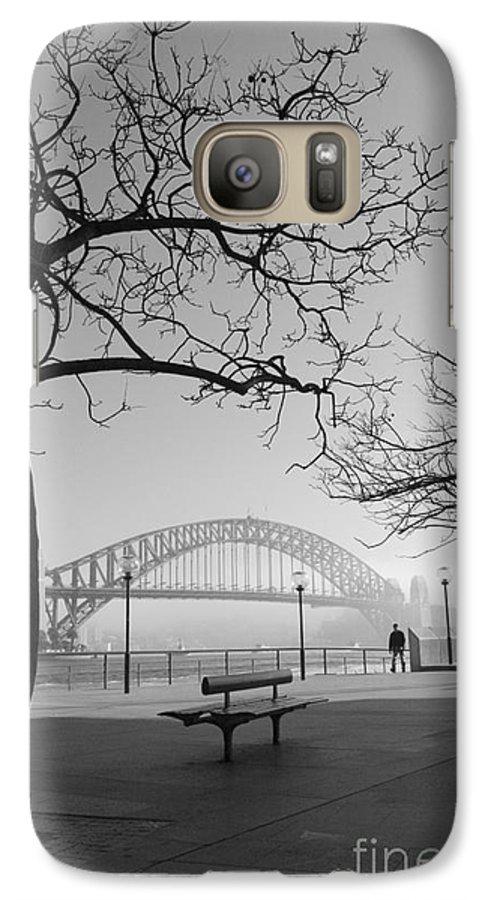 Sydney Harbour Bridge Mist Australia Galaxy S7 Case featuring the photograph Misty Sydney Morning by Sheila Smart Fine Art Photography