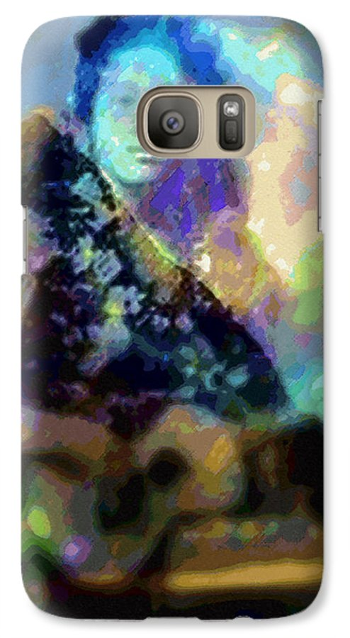 Tropical Interior Design Galaxy S7 Case featuring the photograph Moe Uhane Haili Moe by Kenneth Grzesik