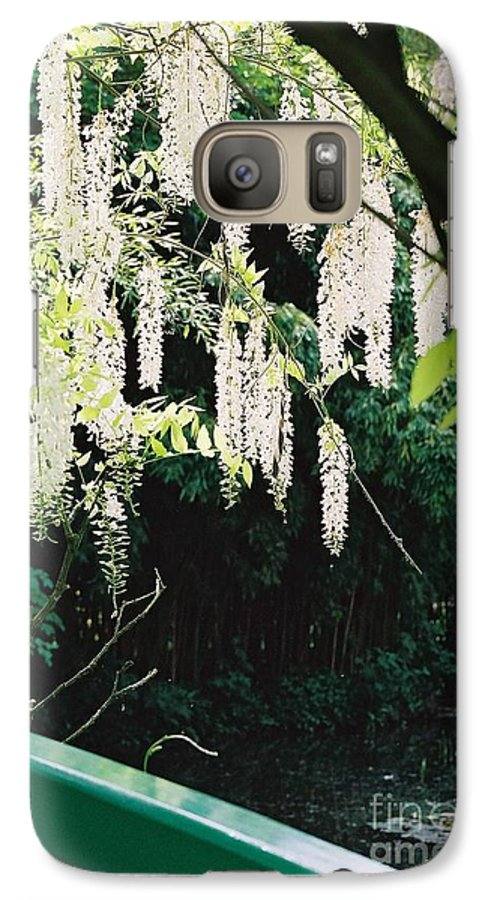 Monet Galaxy S7 Case featuring the photograph Monet's Garden Delights by Nadine Rippelmeyer