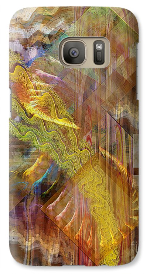 Morning Dance Galaxy S7 Case featuring the digital art Morning Dance by John Beck