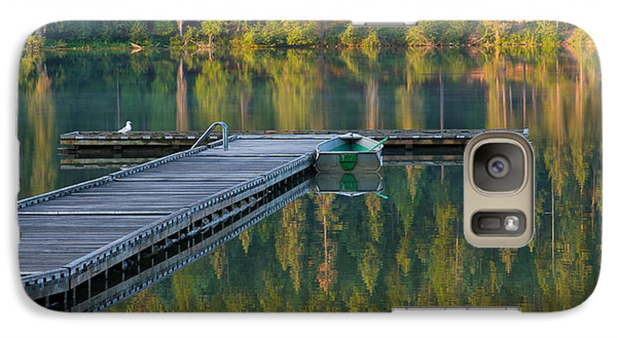 Dock Galaxy S7 Case featuring the photograph Morning Light by Idaho Scenic Images Linda Lantzy