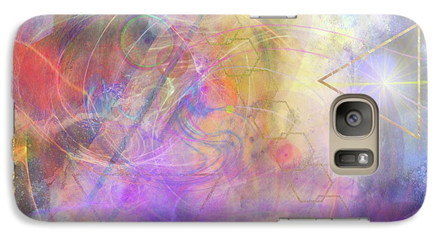 Morning Star Galaxy S7 Case featuring the digital art Morning Star by John Beck