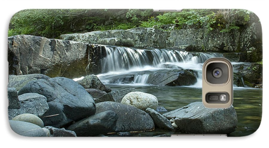 Stream Galaxy S7 Case featuring the photograph Mountain Stream by Idaho Scenic Images Linda Lantzy