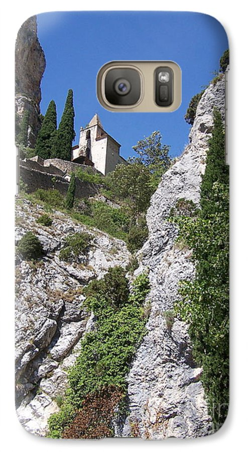 Church Galaxy S7 Case featuring the photograph Moustier St. Marie Church by Nadine Rippelmeyer