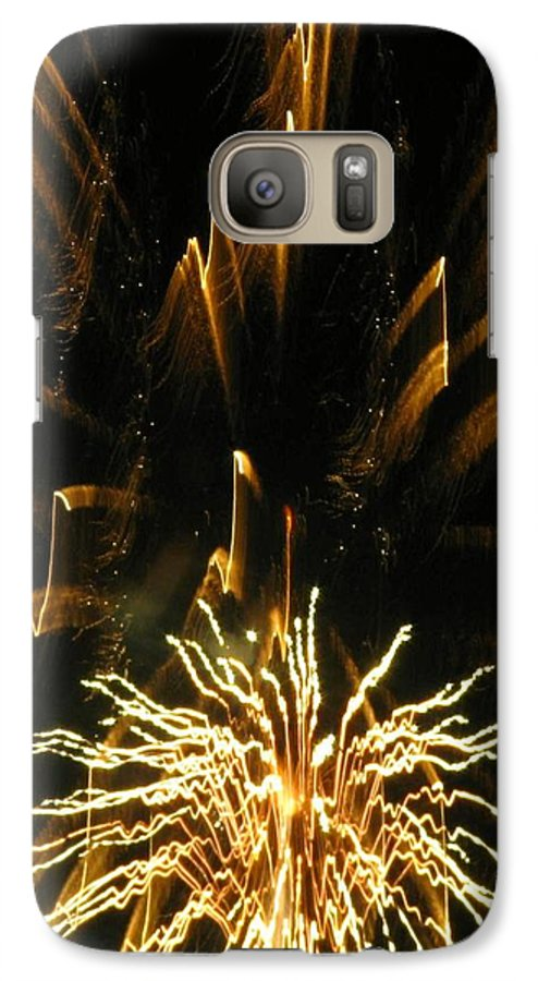 Fireworks Galaxy S7 Case featuring the photograph Music To My Eyes by Rhonda Barrett