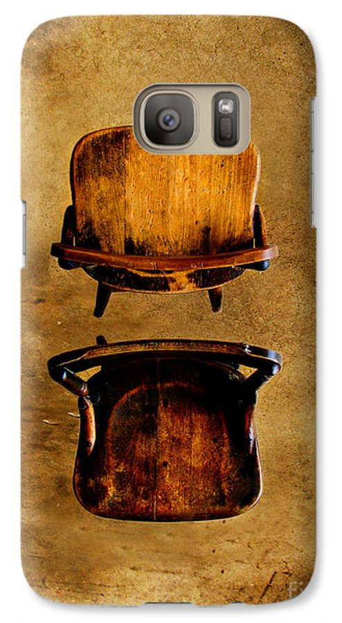 Concrete Galaxy S7 Case featuring the photograph My Arms Were Around You And I Hoped That You Wouldnt Hurt Me by Dana DiPasquale