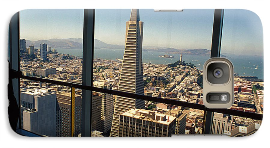 San Francisco Galaxy S7 Case featuring the photograph My City On The Bay by Carl Purcell