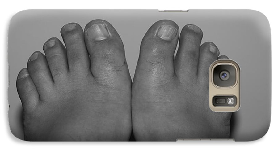 Pop Art Galaxy S7 Case featuring the photograph My Feet By Hans by Rob Hans