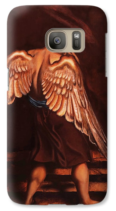Giorgio Galaxy S7 Case featuring the painting My Soul Seeks For What My Heart Lost by Giorgio Tuscani