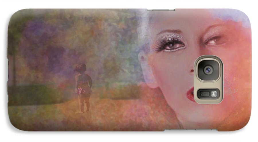 Woman Galaxy S7 Case featuring the photograph Mystic Woman by Jeff Burgess