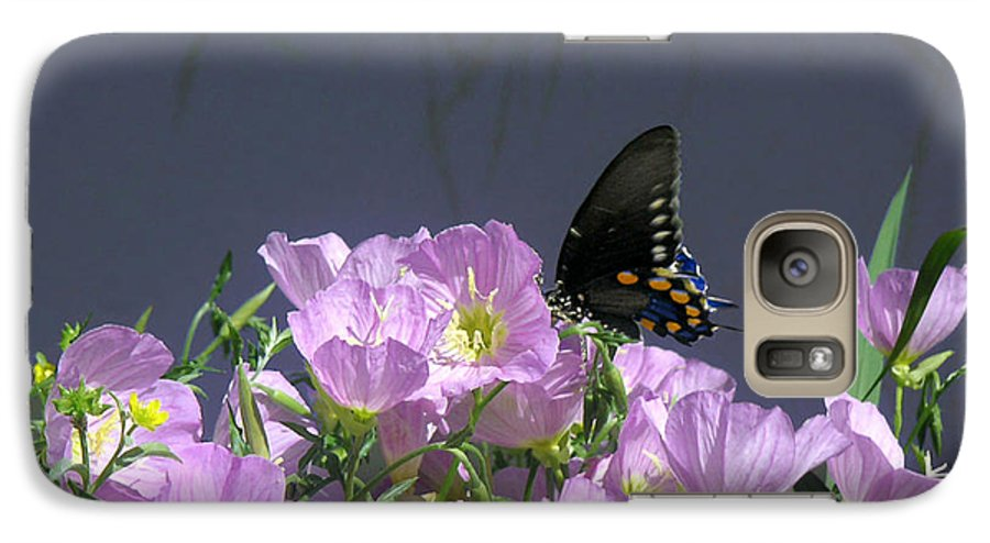 Nature Galaxy S7 Case featuring the photograph Nature In The Wild - Profiles By A Stream by Lucyna A M Green
