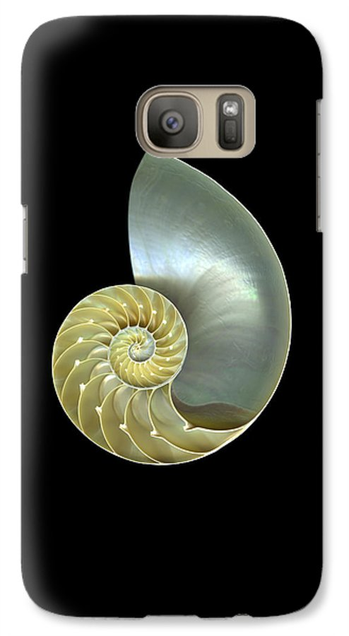 Slanec Galaxy S7 Case featuring the photograph Nautilus Nr.1 by Christian Slanec