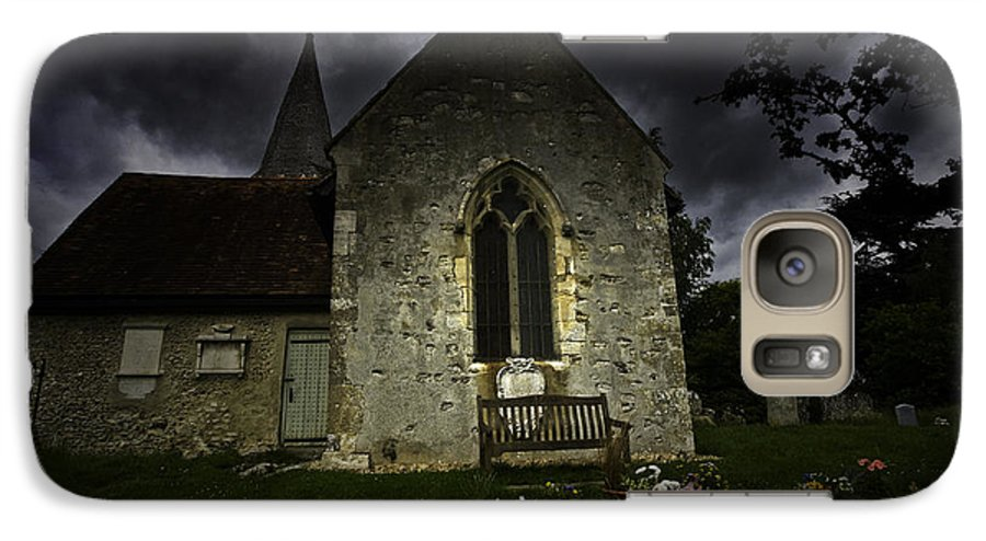 Church Galaxy S7 Case featuring the photograph Norman Church At Lissing Hampshire England by Sheila Smart Fine Art Photography