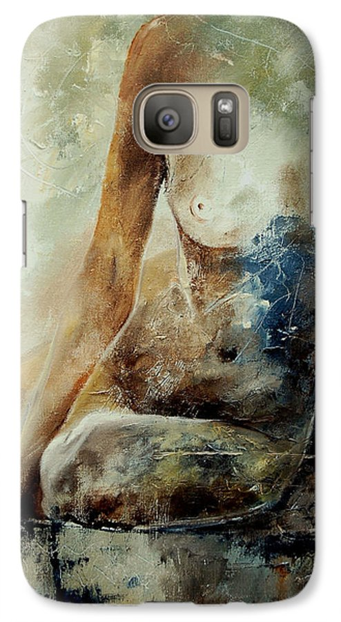 Nude Galaxy S7 Case featuring the painting Nude 560408 by Pol Ledent