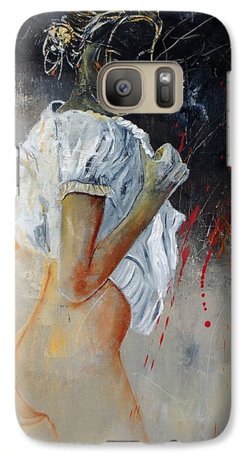 Nude Galaxy S7 Case featuring the painting Nude 560508 by Pol Ledent