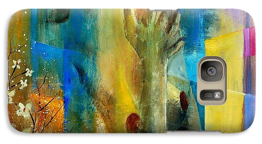 Nude Galaxy S7 Case featuring the painting Nude 5609082 by Pol Ledent
