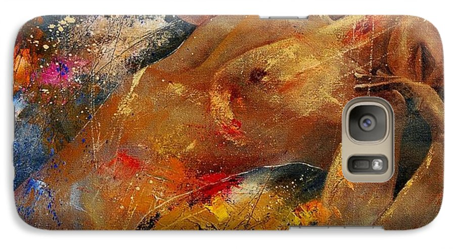Nude Galaxy S7 Case featuring the painting Nude 67 0407 by Pol Ledent